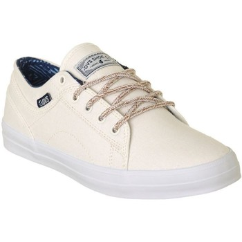 DVS Natural Canvas Aversa Womens Low Top Shoe women's Shoes (Trainers) in White. Sizes available:5.5