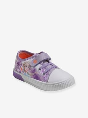 Frozen® Trainers with Light-Up Soles for Girls purple medium solid