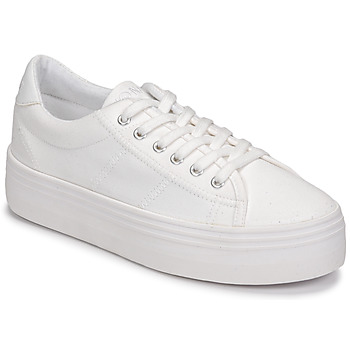 No Name PLATO SNEAKER women's Shoes (Trainers) in White. Sizes available:5,5.5,6.5,7