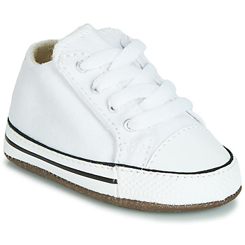 Converse CHUCK TAYLOR ALL STAR CRIBSTER CANVAS COLOR HI girls's Children's Shoes (High-top Trainers) in White. Sizes available:1.5 toddler,2 toddler,3 toddler,4 toddler