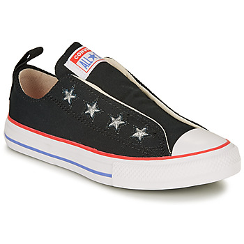 Converse CHUCK TAYLOR ALL STAR TEEN SLIP CANVAS COLOR - SLIP girls's Children's Shoes (Trainers) in multicolour. Sizes available:10 kid,11 kid,12 kid,13 kid,1 kid,2 kid,2.5 kid