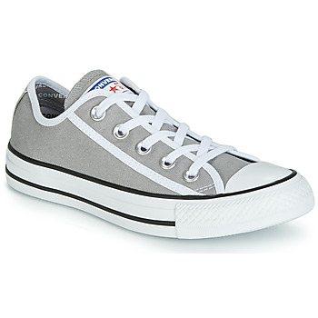 Converse CHUCK TAYLOR ALL STAR GAMER CANVAS OX men's Shoes (Trainers) in Grey. Sizes available:3.5
